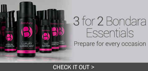 Lubricants Main Offer 2 - 3 for 2 On Bondara Essentials