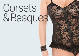 Sexy Plus Size Corsets & Basques